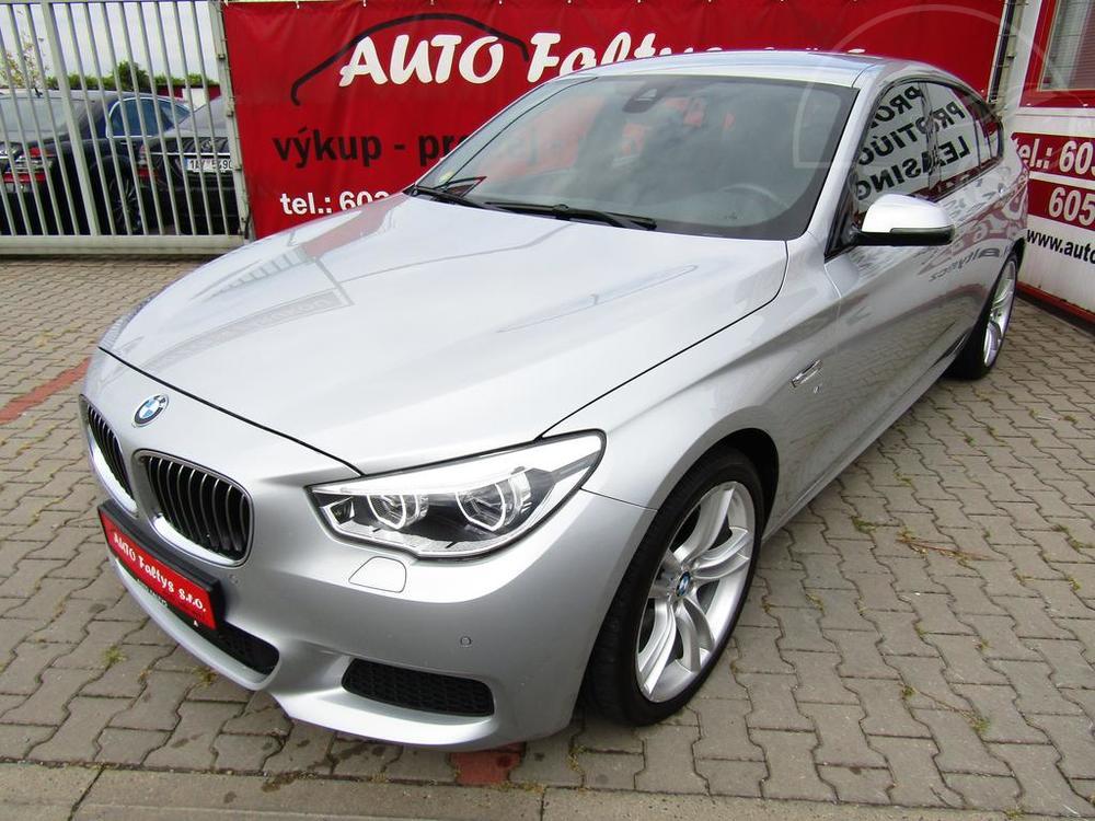 Karoserie stříbrného BMW 5 GT, xDrive, 535d, rok 2014