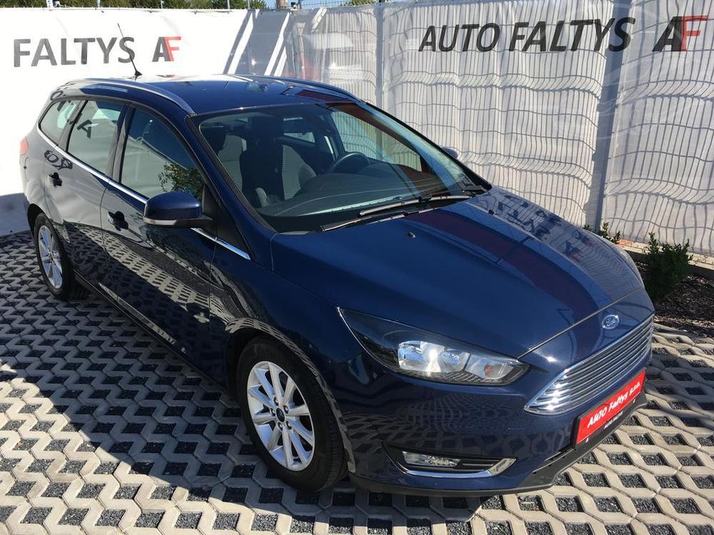 Ford Focus Titanium 2.0 TDI, 110 kW, rok 2015, najeto 135.200 kilometrů, autobazar Autofaltys