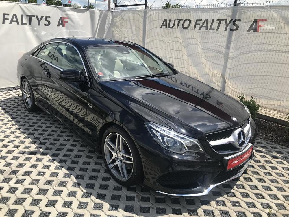 Karoserie, černý Mercedes E 250 na prodej, CDI, AMG, 150 KW, diesel, automat, najeto jen 65.156 kilometrů