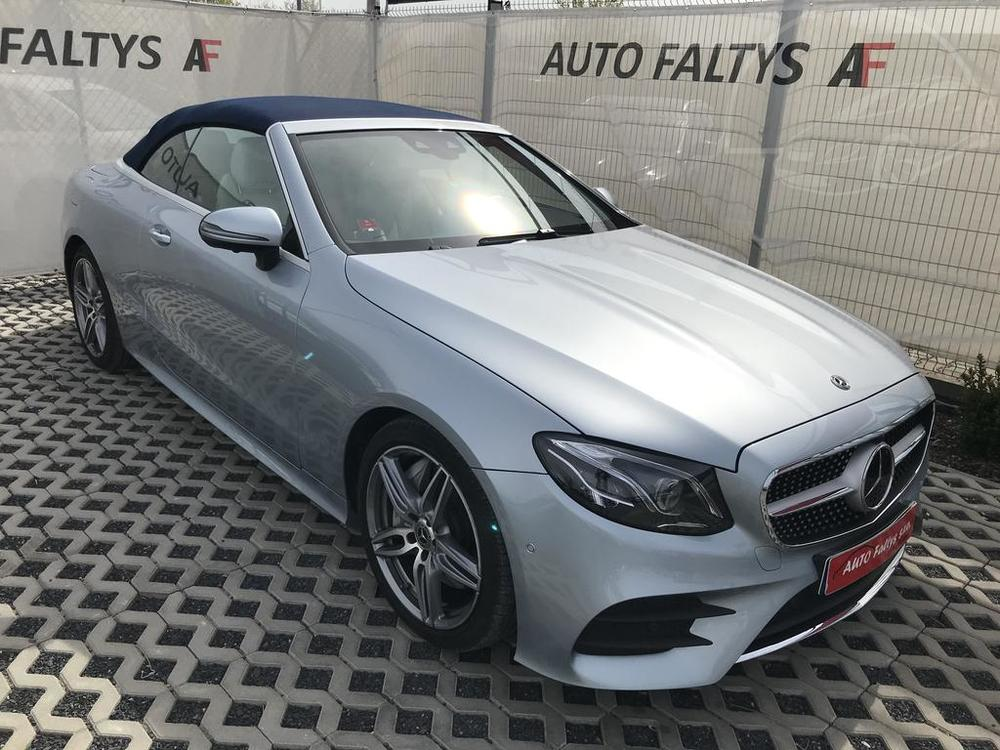 Mercedes-Benz E 300 AMG, 180 kW, benzín, automat, rok 2018,