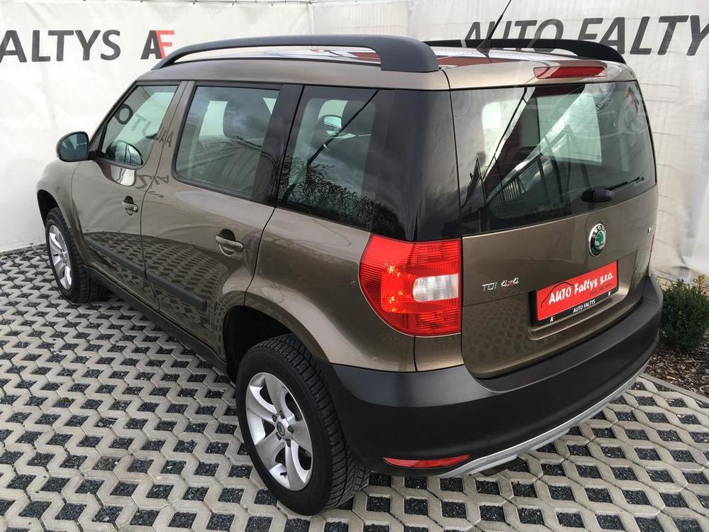 Prodej Škoda Yeti, rok 2011, diesel, 4x4, najeto 118.131 KM, autobazar Auto Faltys, Praha Letňany