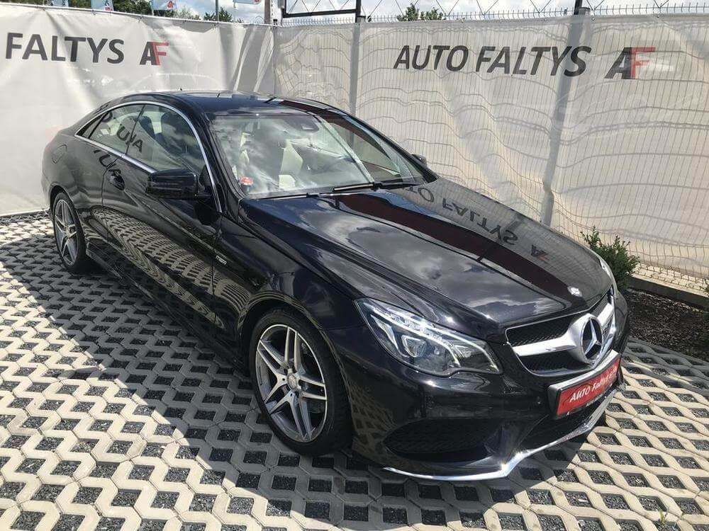 Mercedes-Benz E 250 AMG, 150 kW, diesel, automat, rok 2014, najeto 65.156 km