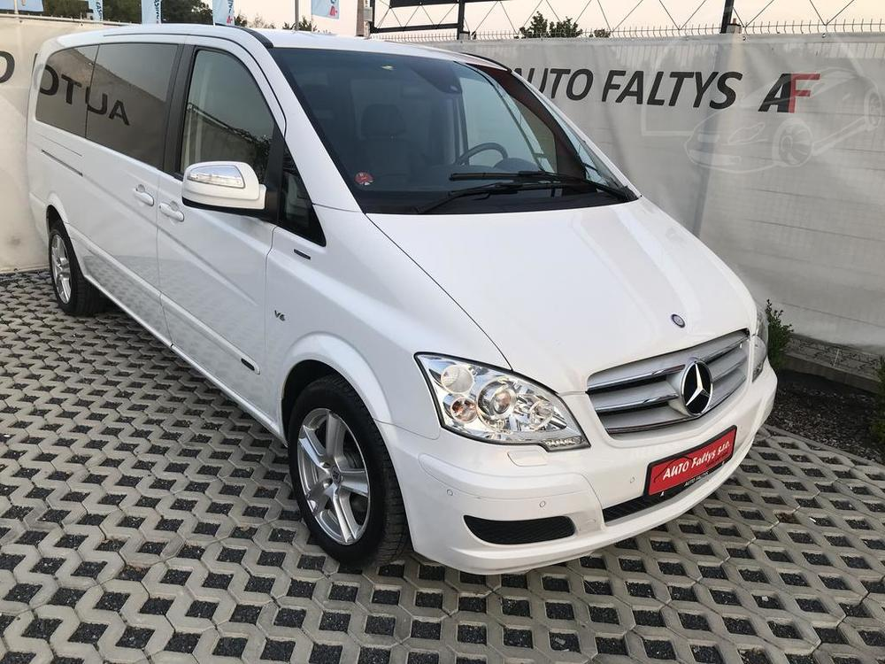 Bílý Mercedes Viano 3.0 CDI na prodej, karoserie a facelift, rok 2014, 165 kW, automat, bazar Auto Faltys