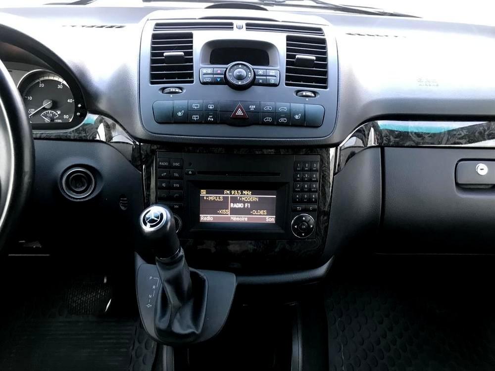 Mercedes Viano 3.0 CDI na prodej, řadící páka, rok 2014, 165 kW, automat, bazar Auto Faltys