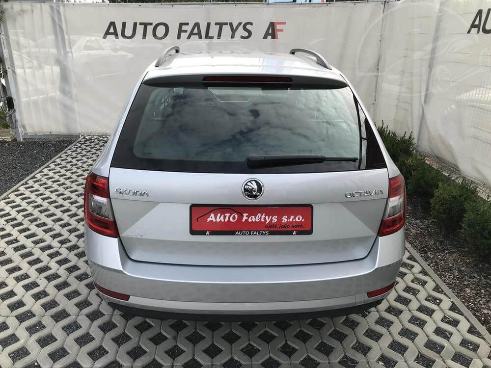 Stříbrná Škoda Octavia Combi na prodej, rok 2017, automat, diesel, 85 kW, najeto 45.458 km, bazar Auto Faltys