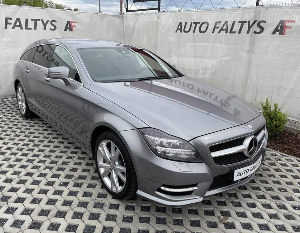 Mercedes-Benz CLS 350, kombi, CDI, rok 2013, 195 kW, 4MATIC, najeto 187.130 km, luxusní výbava
